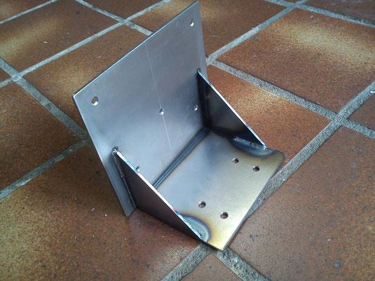 Een stevige stalen tafel frame